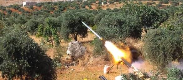 Lattakia militants Fire 3 Grad missiles on city