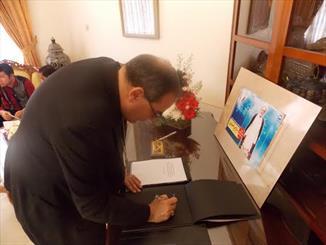 Memorial office for Beirut martyrs in Jakarta opened