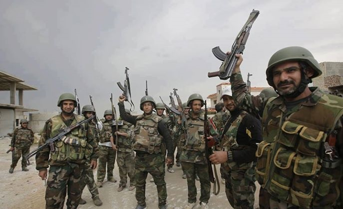 Photo of Syrian Army Strikes Terrorists across Country