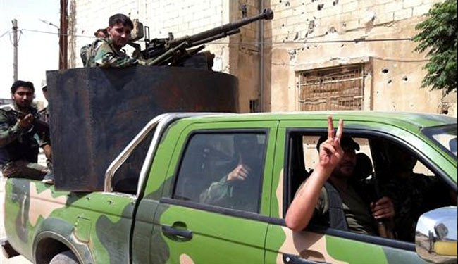 Syria army continues mop-up operations, kills many militants