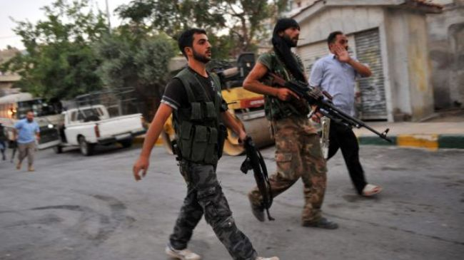 Takfiris force out fellows from Syria townTakfiris force out fellows from Syria town