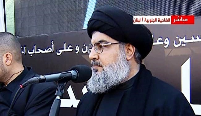 Nasrallah: We don't leave Syria for a couple of seats