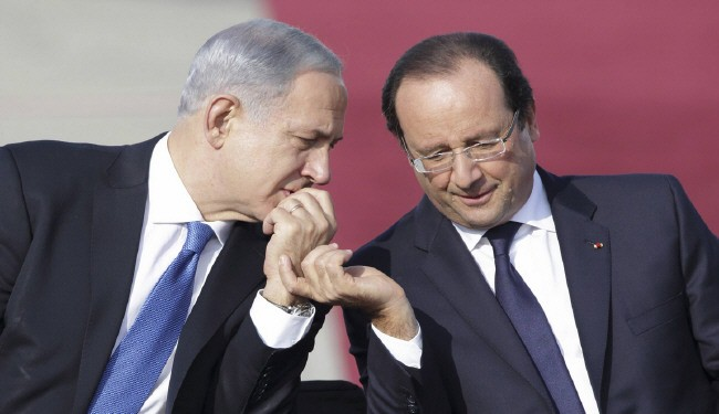 Photo of zionist Hollande tells nuke-armed Israel: We won't let nuke-armed Iran