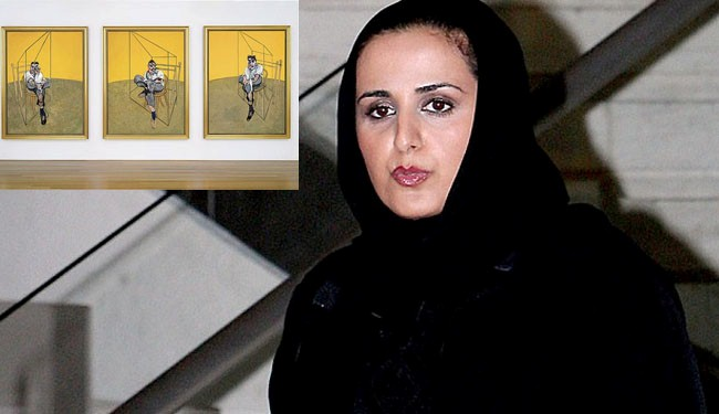 Photo of Qatari royal, secret buyer of $142 million Francis Bacon painting