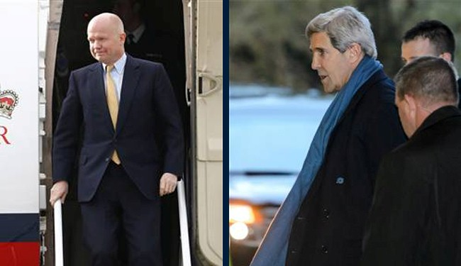 Kerry, Hague join Iran nuclear talks