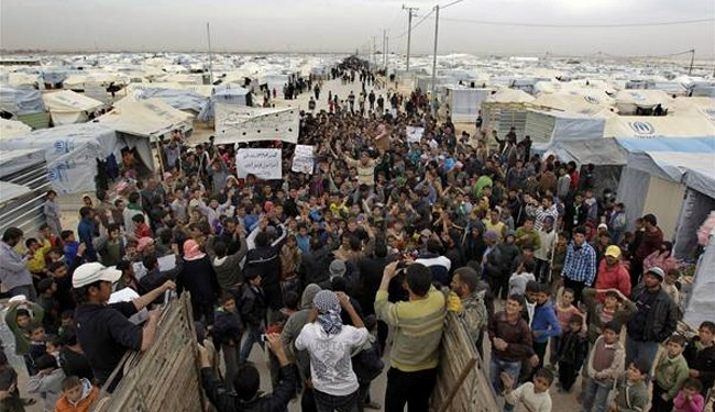 100,000 Syrian refugees leave Jordan to home