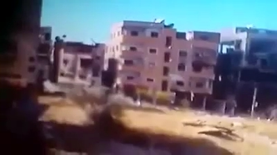 Photo of Video- Hezbollah blow up a building inside many terrorists in Syria