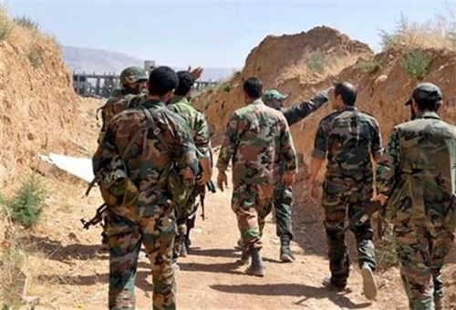 Photo of Syrian Army Continuing Clean-Up Operations in Hasaka Suburbs