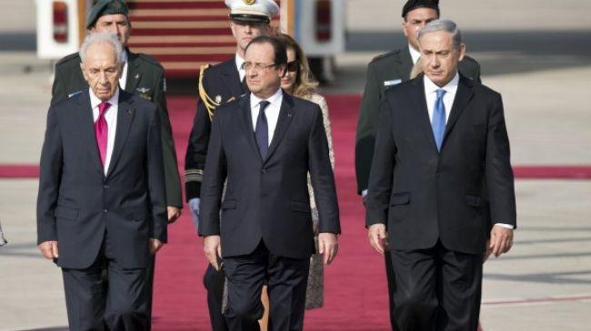 337858_Hollande in Tel Aviv
