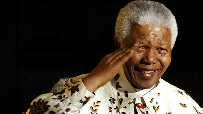 Photo of Nelson Mandela passes away at 95