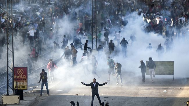 Photo of Egypt police fire teargas on protesters, arrest 73