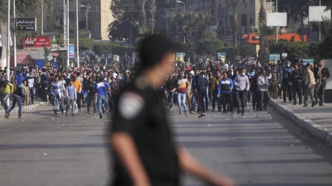 Photo of Student protester killed in Egypt clashes