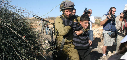 Photo of Shame on Humanity: 75% of the detainees in zionist israeli jails are children