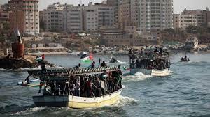 Activists on board 20 fishing boats manage to break Gaza blockade