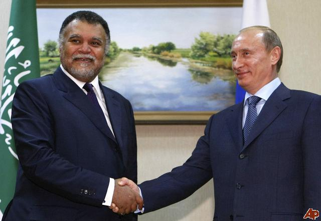 Photo of Double-faced Putin Discusses Syria, Iran with zionist Saudi Intelligence Chief Bandar