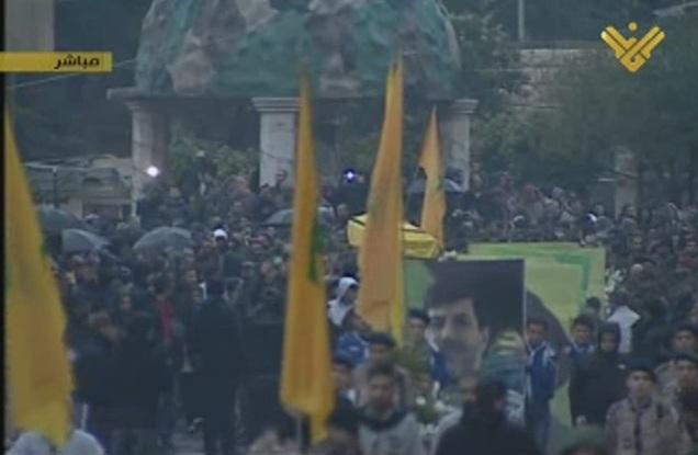 Hezbollah Mourns Martyr Hassan Lakkis in Baalbek