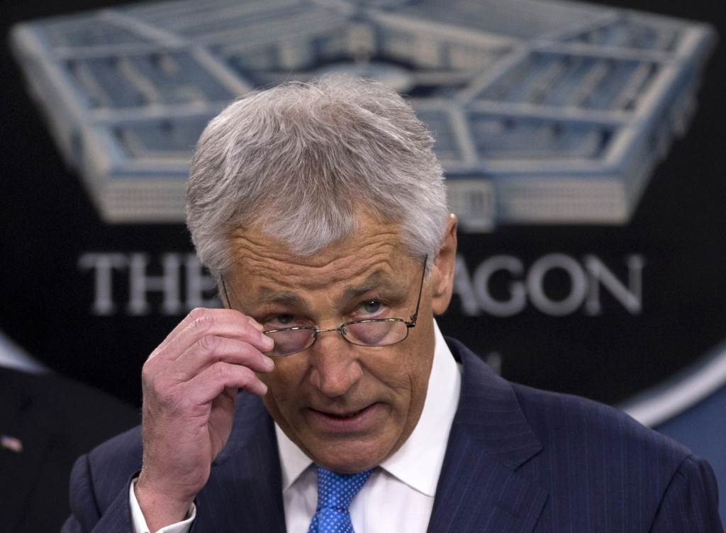Photo of Hagel: Iran Diplomacy must be Backed by Military Might