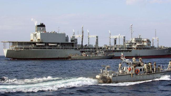 Photo of Iran's 28th Fleet Docks at Sri Lankan Colombo Port