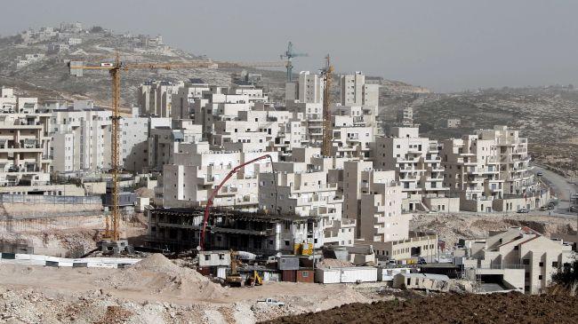 Israel settlement building rises