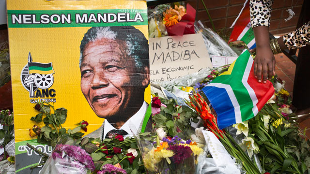 Nelson Mandela's old house in Soweto