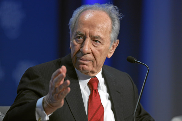 'Gaza: The Case for Middle East Peace': Shimon Peres