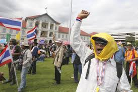 Thai protesters say achieved victory