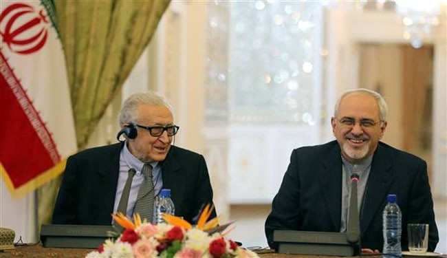 Photo of Zarif, Brahimi discuss upcoming Syria talks
