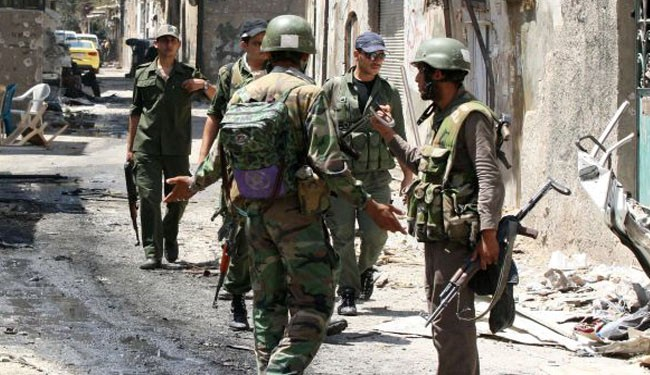 Syria army wages fresh battle against militants