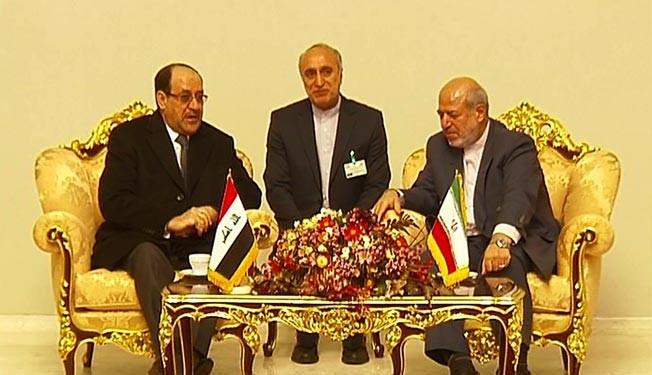 Iraqi Premier Nouri al-Maliki arrives in Iran