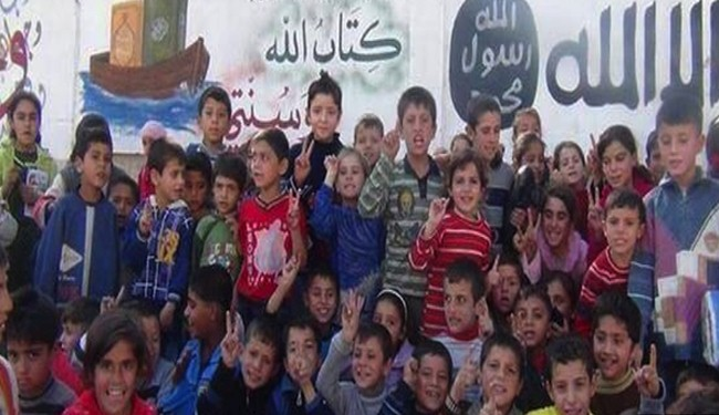 Photo of ISIL terrorists recruit children for war in Syria