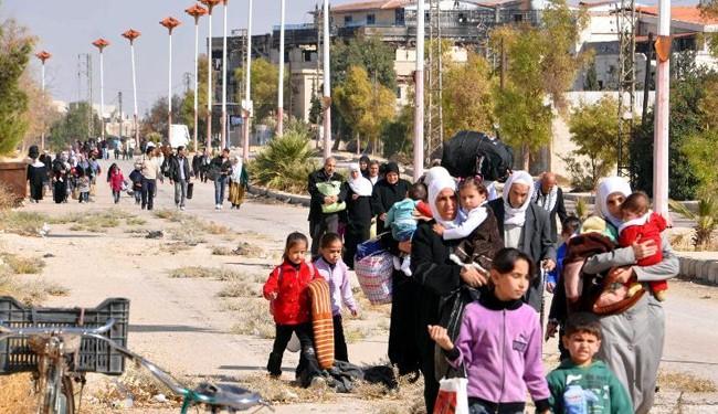 Photo of Syria gov't, militants agree truce in Moadamiyet al-Sham