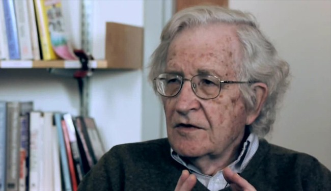 Chomsky: Richest countries are racing toward disaster