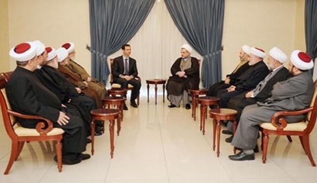 Photo of Assad urges fight against Saudi Wahhabism
