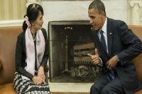 Photo of Zionist Obama, Kyi endorse Rohingya cleansing