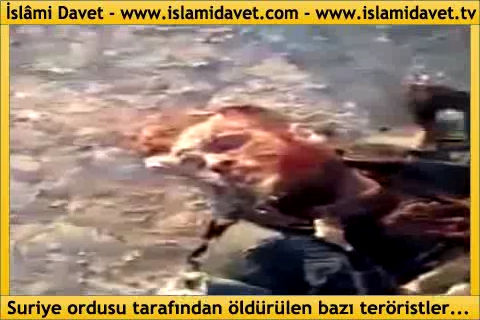Photo of Video- Images of the terrorists who were killed by Victorious Syrian Army