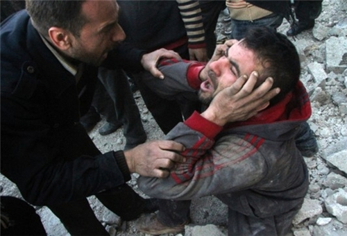 Photo of Beheaded Bodies of 50 Syrian Citizens Found in Aleppo