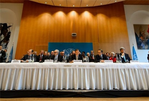 Photo of Syria: Geneva II Conference Scene of Wide Rift among Opposition Groups