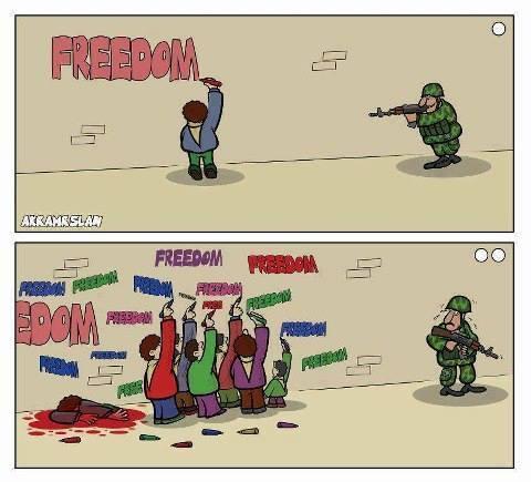 Photo of Caricature: Freedom..
