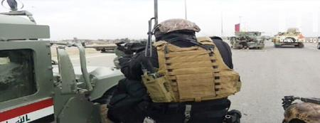 Photo of Pro- Maliki armed tribes attacked the sites of Al- Qaeda terrorists in Ramadi and killed 4 and captured 8
