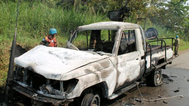 Photo of Congolese army commander killed in rebels' ambush