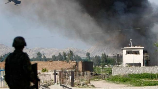 Photo of Armed men attack US military base in Afghanistan