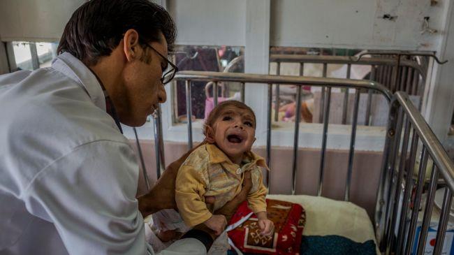 Photo of US war blamed for Afghan hunger crisis