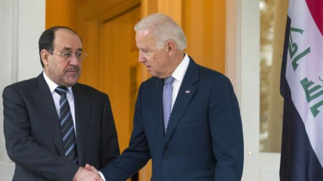Photo of US VP voices support for Iraq's Maliki