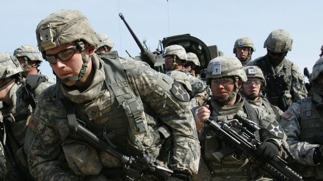 Photo of Great Satan US sending troops, tanks to S Korea
