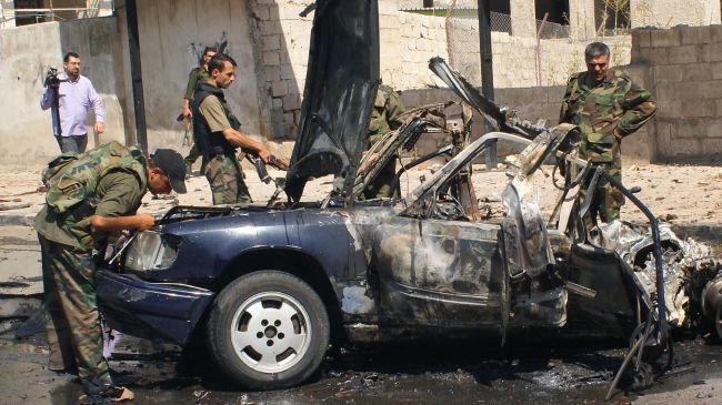 Photo of 16 killed, dozens injured in Syria car bomb blast