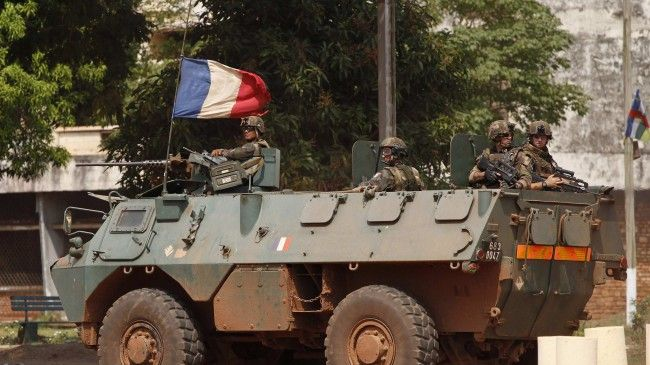 Photo of 'Regime change, France objective in CAR'