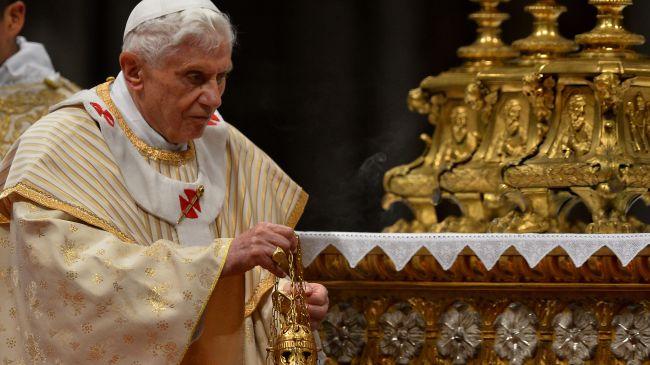 346466_ Pope Benedict XVI