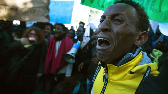 Photo of Migrants to hold demos at Israeli embassies worldwide