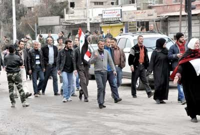 Photo of Hundreds of families go back to their houses in Barzeh due to national reconciliation