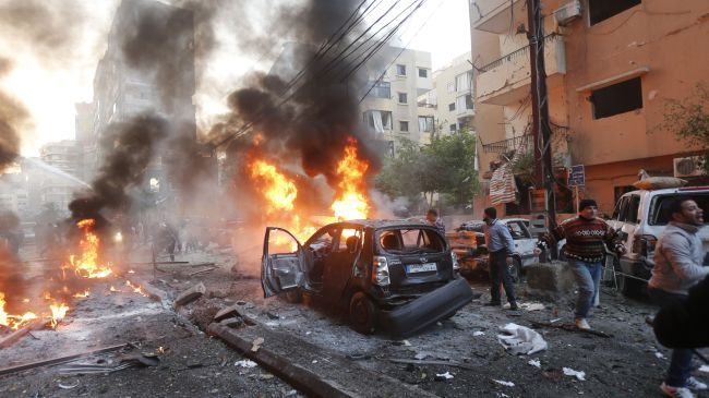 Car bomb attack in S Beirut kills 7, injures over 30